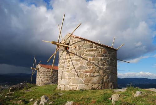 Muíños de vento de Abalo. Catoira (Pontevedra)