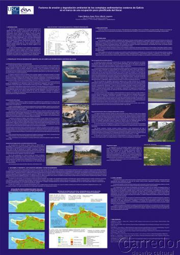 Póster factores de erosión