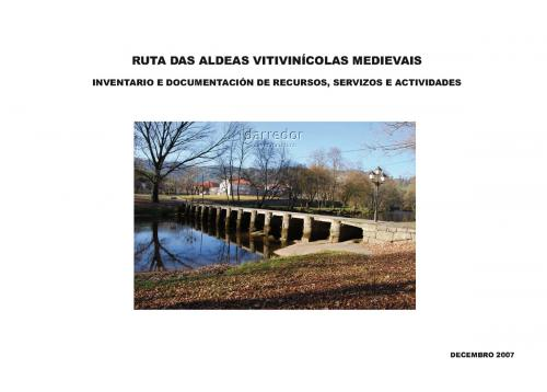Ruta aldeas vitivinícolas medievais