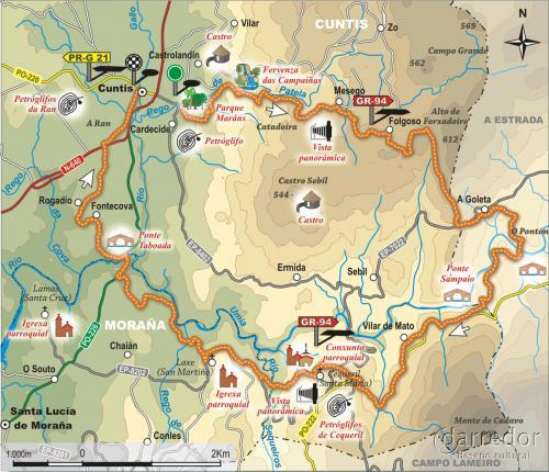 Ruta turística en Cuntis