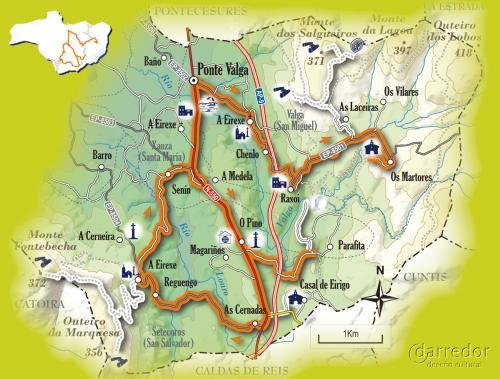 Ruta turistica en Valga