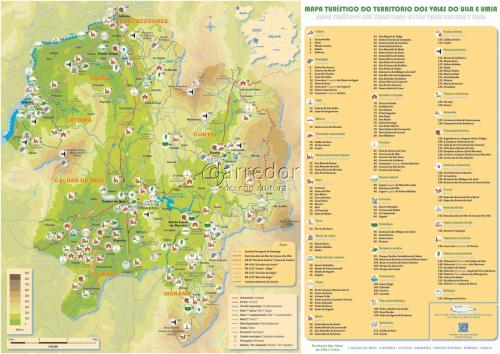 Mapa de recursos turísticos