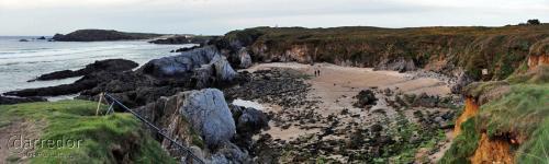 Ruta ecoxeográfica costa de Ferrol. Praia dos Cortellos