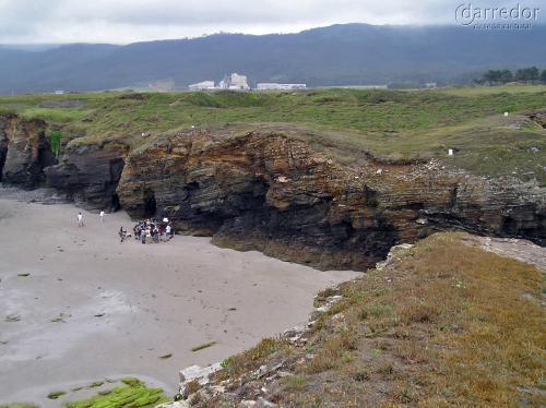 Análise xeomorfolóxica da costa de Ribadeo